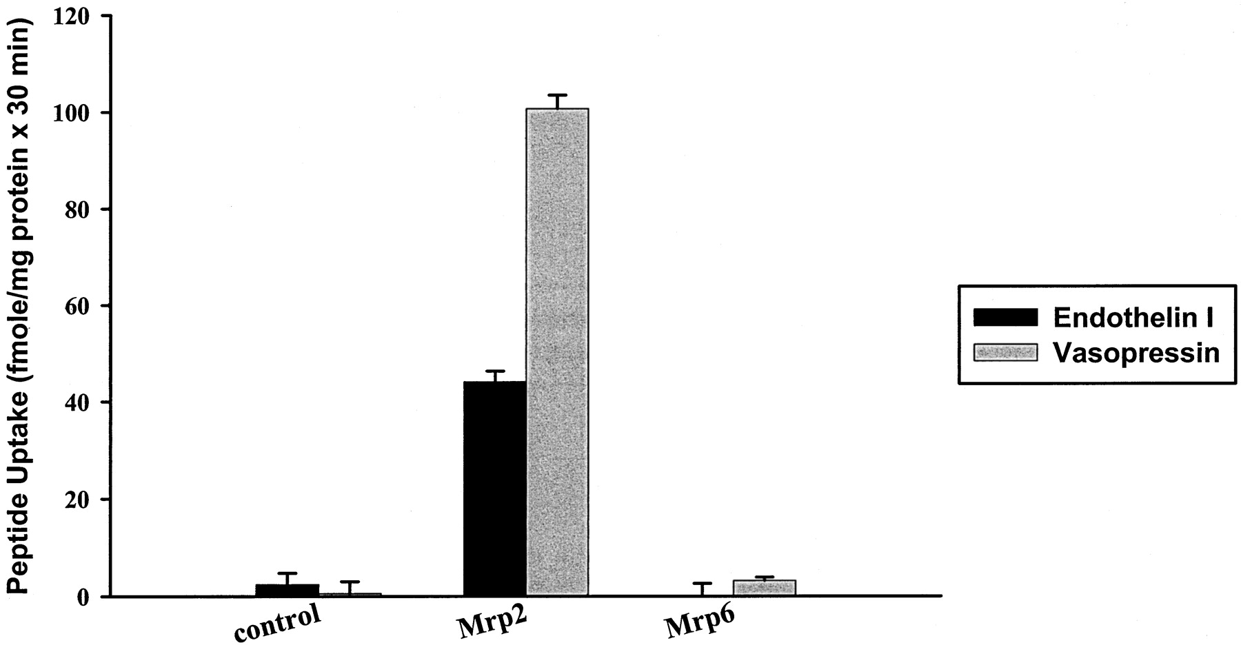 Transport Function and Hepatocellular Localization of mrp6