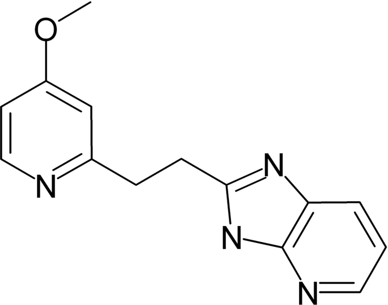 The Novel Imidazopyridine 2-[2-(4-Methoxy-pyridin-2-yl