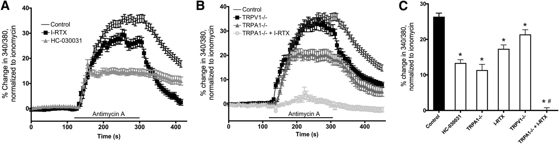 Sensory Nerve Terminal Mitochondrial Dysfunction Activates Airway
