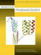 Molecular Pharmacology: 74 (3)