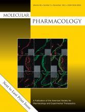Molecular Pharmacology: 80 (5)