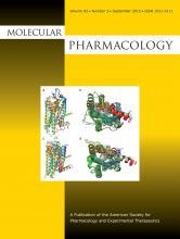 Molecular Pharmacology: 82 (3)