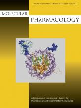 Molecular Pharmacology: 83 (3)