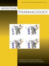 Molecular Pharmacology: 83 (5)