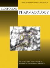 Molecular Pharmacology: 84 (1)