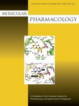 Molecular Pharmacology: 84 (4)