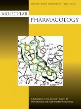 Molecular Pharmacology: 84 (6)