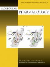 Molecular Pharmacology: 85 (3)