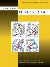Molecular Pharmacology: 85 (5)