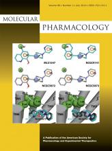 Molecular Pharmacology: 86 (1)