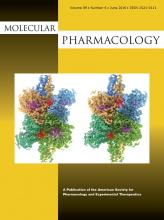 Molecular Pharmacology: 89 (6)