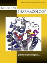 Molecular Pharmacology: 90 (1)