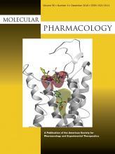 Molecular Pharmacology: 90 (6)